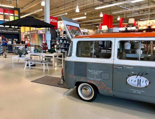 Fiat Pulmino – Karwei koffie op locatie