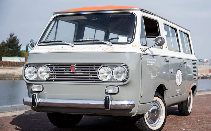 Fiat Oldtimer gerestaureerd