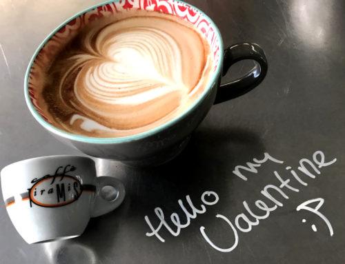 Valentine Latte Art Heart