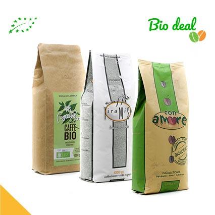 biologisch koffiepakket