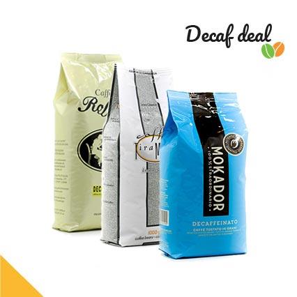 Decaf koffiepakket