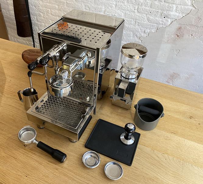 Occasion espressomachine