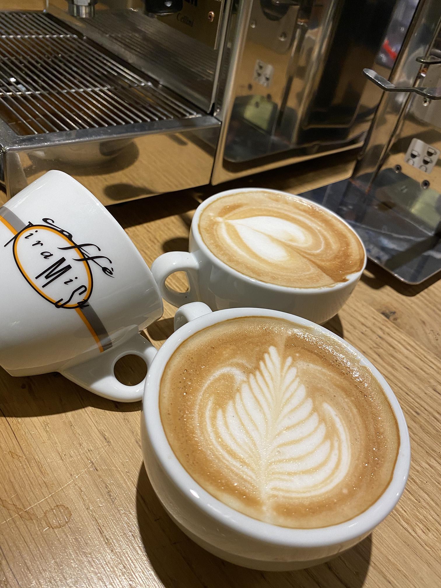 Latte art Espresso.nl
