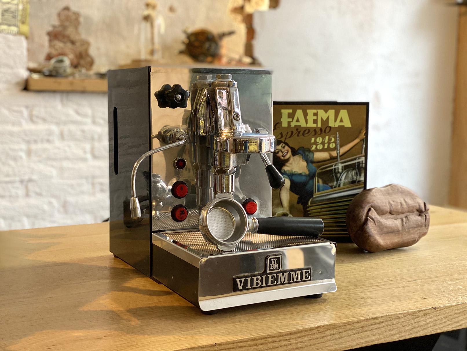 Vintage espressomachine